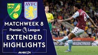 Norwich City v. Aston Villa | PREMIER LEAGUE HIGHLIGHTS | 10/5/19 | NBC Sports