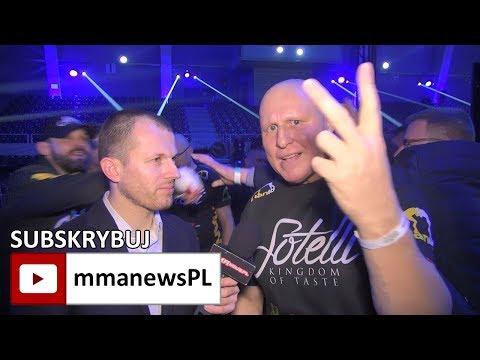 """Mirosław Okniński: """"Szymon Kołecki jest king kongiem"""""""