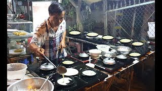 """Uncle 50-year-old """"Dance"""" One Time 20 Banh Xeo Mold / Method of Baking"""