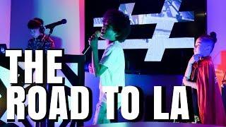 Kids Rap Group Hollywood Trip Vlog | Clean Songs Cool Kids Music Bloggers TRNDSTTRS