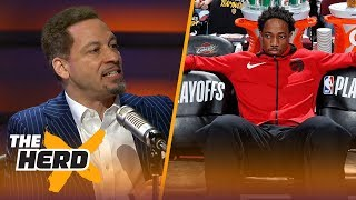 Broussard and Mcintyre on the Toronto Raptors treatment of DeMar DeRozan | NBA | THE HERD