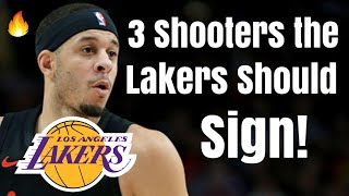 3 Shooters the Los Angeles Lakers Should SIGN!   Seth Curry Joins LeBron After Anthony Davis Trade?