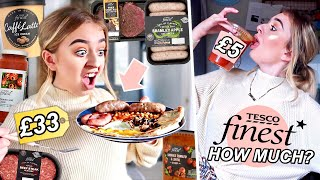 I tried the most EXPENSIVE food in the supermarket for 24 HOURS!
