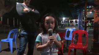 "My daughter Rohana Avril  Sings ""Baby Shark"" sa Videoke 04/13/2019"