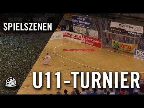 FC Chelsea - Hertha BSC (U11 E-Junioren, Viertelfinale, Allianz Cup 2017) - Spielszenen | SPREEKICK.TV