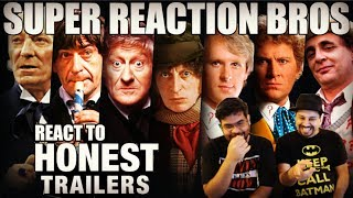 SRB Reacts to Honest Trailers - Doctor Who (Classic)