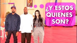 KIM KARDASHIAN PASA un MOMENTO VERGONZ0S0 con el PRESIDENTE de UGANDA