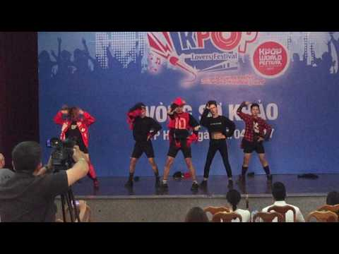 Heaven Dance Team (SwagTeam) Dance live at Kpop Festival 2017