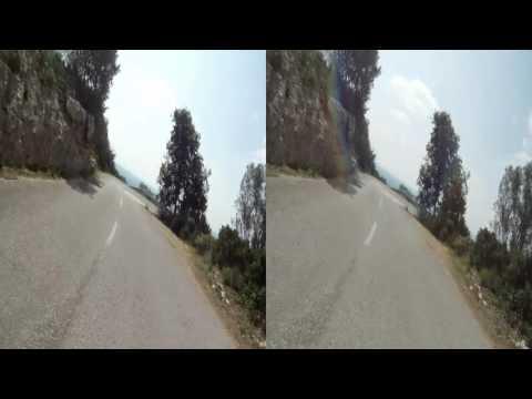 3D HSBS - Majorque/Mallorca 2014 - Santuari de Cura à/to Randa descente/descent