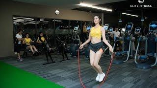 Hoa hậu Việt Nam 2016 - Tập luyện tại Elite Fitness