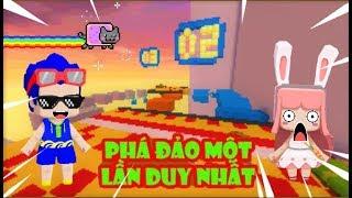 Mini World: Map parkour bước nhảy không gian CF: Không save game | Phong Cận tv