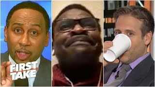 Stephen A. and Michael Irvin get HEATED over Cowboys' treatment of Dak Prescott | First Take