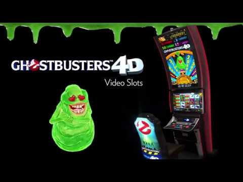 New Ghostbusters 4D Video Slots by IGT