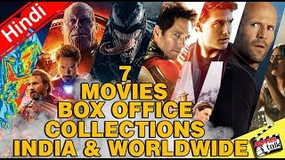 Venom & Others 6 Movies Box Office Collections India & Worldwide