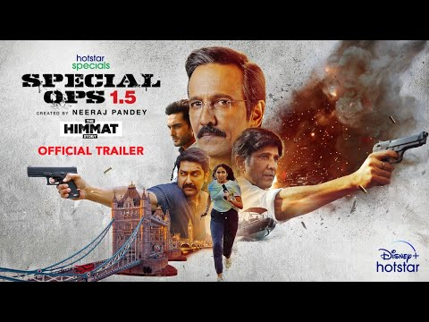 Hotstar Specials 'Special Ops 1.5'- Official trailer- Kay Kay Menon as a RAW agent
