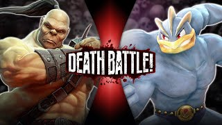 Goro VS Machamp (Mortal Kombat VS Pokémon) | DEATH BATTLE!