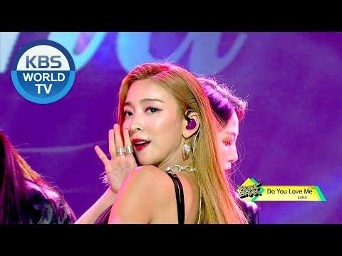 LUNA(루나) - Do You Love Me, Even So(운다고) [Music Bank Come Back / 2019.01.04]