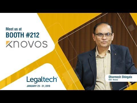 Knovos invites you to Legaltech 2019