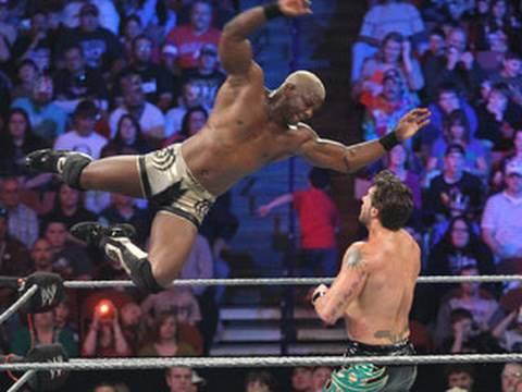 WWE Superstars: Shelton Benjamin vs. Vance Archer - YouTube