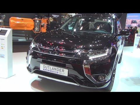 Mitsubishi Outlander PHEV Diamond 4x4 AT (2016) Exterior and Interior in 3D