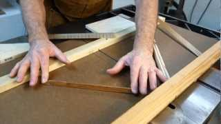 Watch the Trade Secrets Video, Table saw shooting board for fret slots and flexible cauls