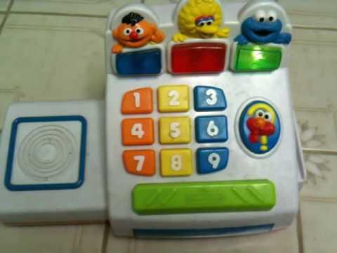 Rammstein i zabawka Cookie Monster