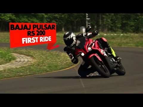Bajaj Pulsar RS 200 : First Impressions : PowerDrift
