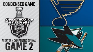 05/13/19 WCF, Gm2: Blues @ Sharks