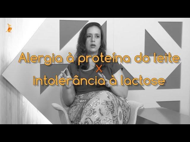 Canguru Entrevista - Alergia x intolerância lactose