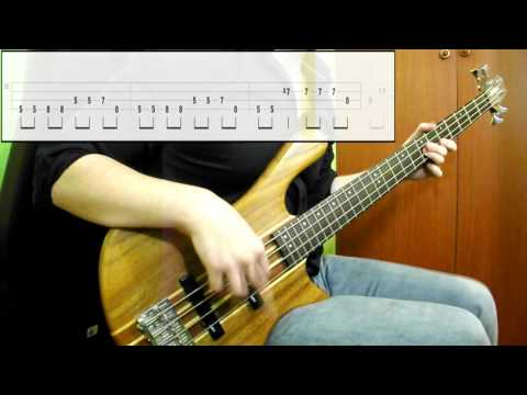 The Doors - Love Her Madly (Bass Cover) (Play Along Tabs In Video)