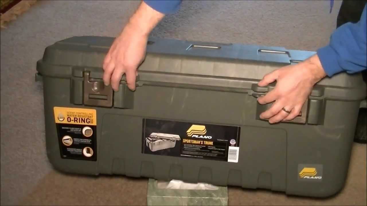 Plano Sportsman S Trunk With Scent Control Walmart 1919