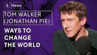 Tom Walker AKA Jonathan Pie on satire, freedom of speech and debating better