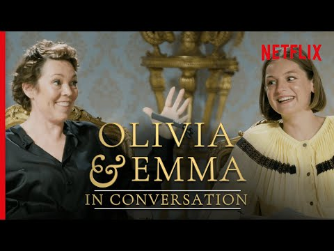 The Queen Meets Diana - Olivia Colman and Emma Corrin | The Crown