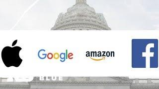 Ejecutivos de Amazon, Apple, Facebook y Google testifican ante congresistas de EEUU