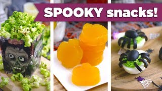 Spooky Snacks for Halloween! Kid-Friendly Healthy Recipes - Mind Over Munch