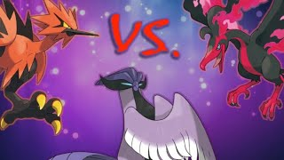 Which Legendary Pokémon Trio Is the Most Unbalanced?