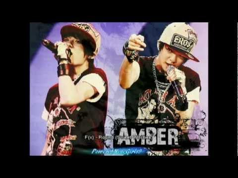 F(x) Amber Rap Parts [New]