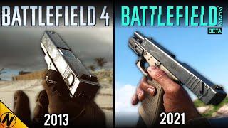 Battlefield 2042 (BETA) vs Battlefield 4   Direct Comparison
