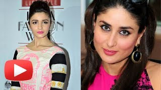 Alia Bhatt Disrespects Kareena Kapoor !