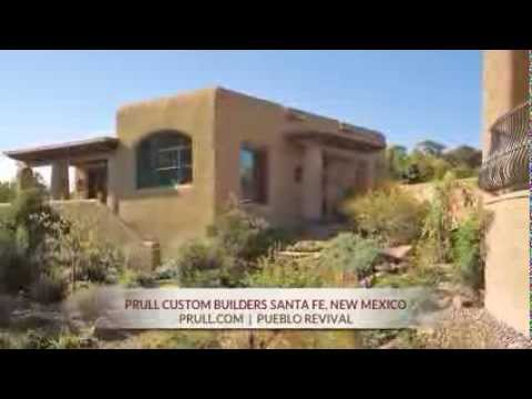 Prull Custom Home Builders in Santa Fe, New Mexico - Pueblo Revival