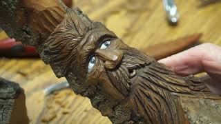2020 WoodCarving Expo: Bark Carving