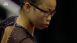 Morgan Hurd Floor Routine | Champions Series Presented By Xfinity