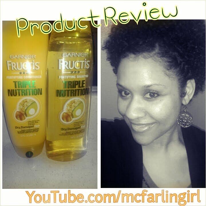 Garnier Fructis Damage Eraser Review Natural Hair