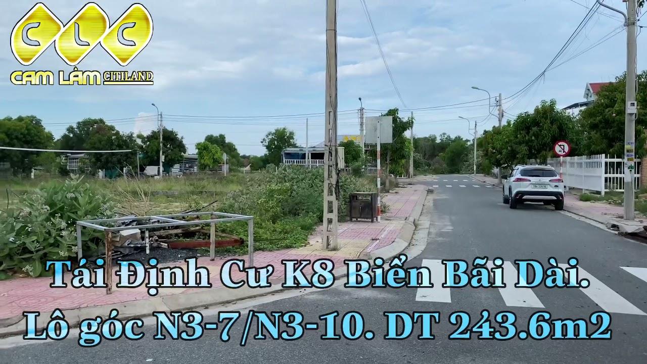 Bán đất tái định cư K8 view Đầm Thuỷ Triều Bãi Dài Cam Ranh Khánh Hoà. LH 0909277***