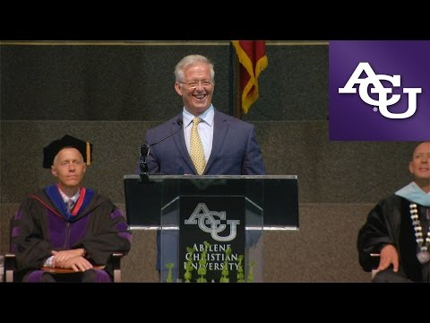 Dr. David M Vanderpool - ACU Opening Assembly 2016