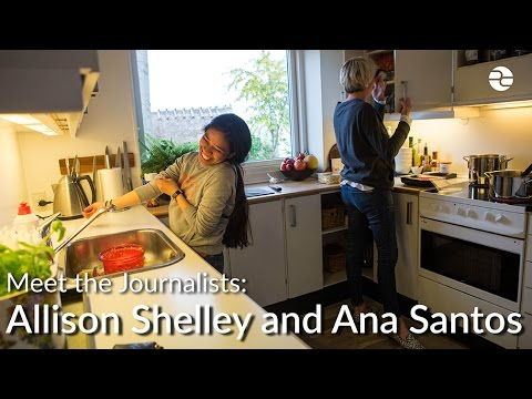 Meet the Journalists: Ana P. Santos and Allison Shelley