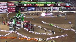 AMA Supercross 2013 | Rd2: Phoenix 450 Main Event [HD]