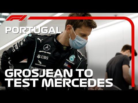 Romain Grosjean To Test For Mercedes At Circuit Paul Ricard