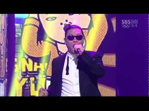 PSY_0722_SBS Inkigayo_GANGNAM STYLE (강남스타일)