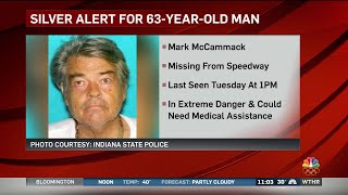 Silver Alert issued for missing Speedway man